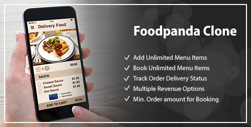Food delivery Clone