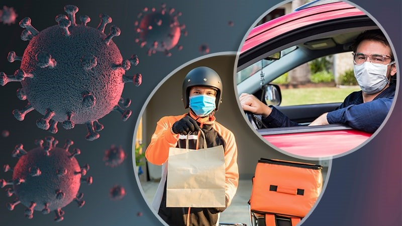How COVID-19 pandemic have impacted home delivery businesses?