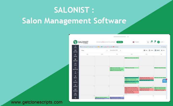 Salonist : All-In-One Salon Management Software