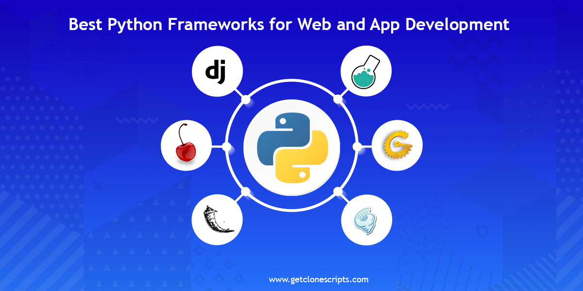 Popular Python Frameworks for Web & App Development In 2021