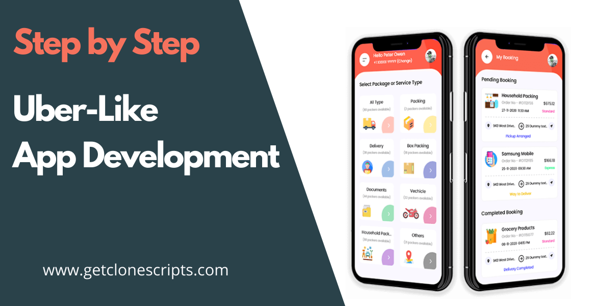 Uber-Like App Development Guide Step-by-Step In 2021